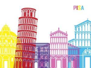 Pisa Skyline Pop by paulrommer