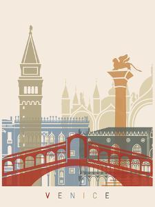 Venice Skyline Poster by paulrommer