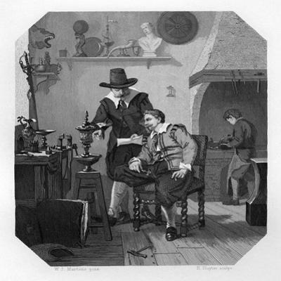 Paulus and Adam Van Vianen, Dutch Silversmiths, C1870