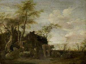 A Herdsmans Hut by Paulus Potter