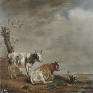 In the Meadow by Paulus Potter