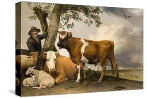The Bull, 1647 by Paulus Potter