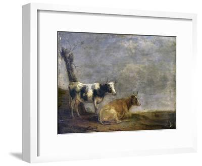 Two Cows, after Paulus Potter, 1652
