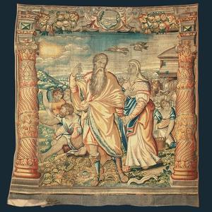 Tapestry Depicting the Descent from the Ark and the Series of the Life of Noah by Paulus van Nieuwenhove