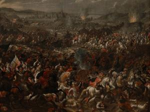 The Battle of Vienna on 12 September 1683 by Pauwels Casteels