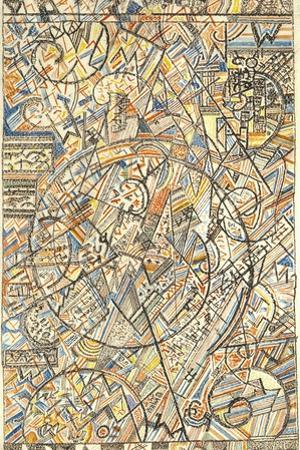 The Formula of the Universe, 1920-1922 by Pavel Nikolayevich Filonov