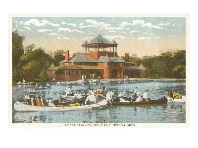 Pavilion, Belle Isle, Detroit, Michigan--Art Print