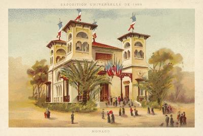 Pavilion of Monaco, Exposition Universelle 1889, Paris--Giclee Print