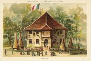 Pavilion of Senegal, Exposition Universelle 1889, Paris