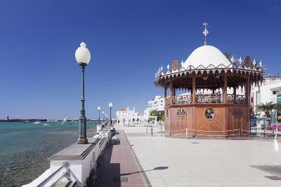 Pavilion on the Promenade La Marina, Arrecife, Lanzarote, Canary Islands, Spain, Atlantic, Europe-Markus Lange-Photographic Print