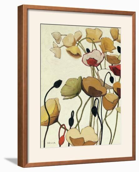 Pavots Ondule I--Framed Photographic Print