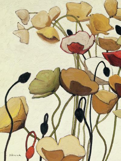 Pavots Ondule I-Shirley Novak-Art Print