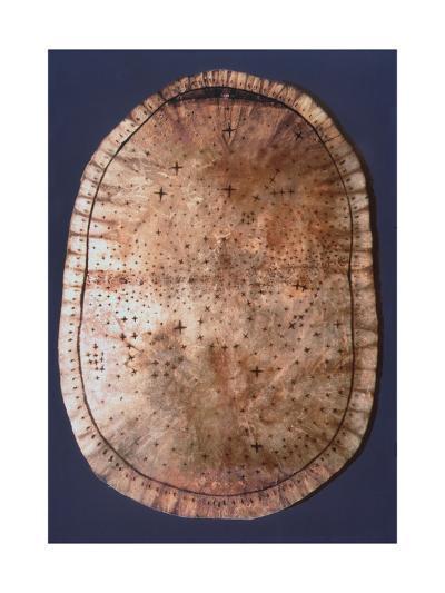 Pawnee Buckskin Chart of the Night Sky--Giclee Print