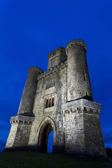 Paxtons Tower, Llanarthne, Carmarthenshire, Wales, United Kingdom, Europe-Billy Stock-Photographic Print