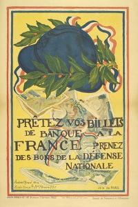 Pay Your Bills For the Defence Of France