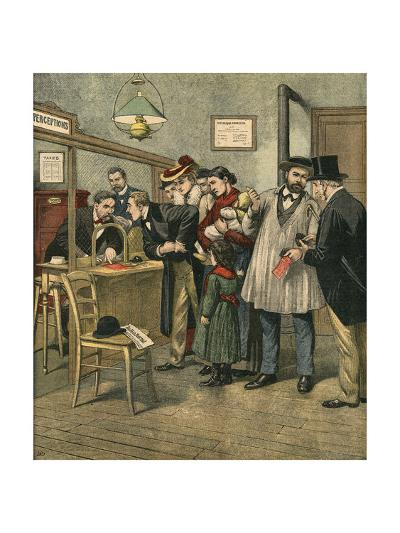 Paying Taxes, 1903--Giclee Print