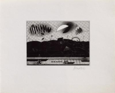 Paysage Aux Deux Lunes-Bezdikian Assadour-Collectable Print