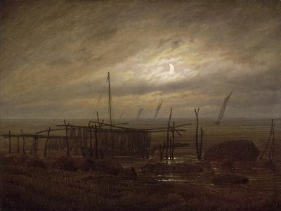 Paysage de bord de mer-Caspar David Friedrich-Giclee Print