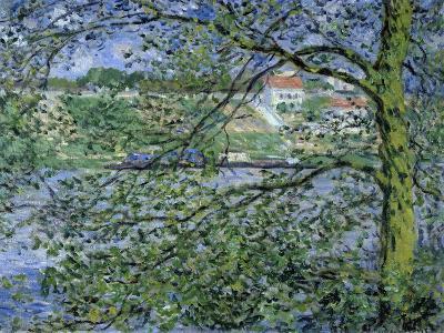 Paysage de la Seine-Claude Monet-Giclee Print