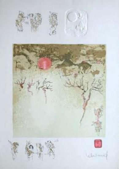 Paysage Fantastique III-Lebadang-Collectable Print