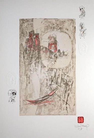 Paysage Fantastique V-Lebadang-Collectable Print