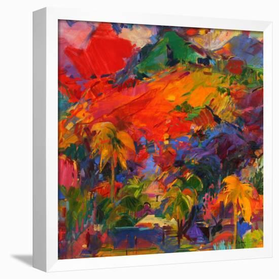 Paysage Polynesien, 2011-Peter Graham-Framed Stretched Canvas Print