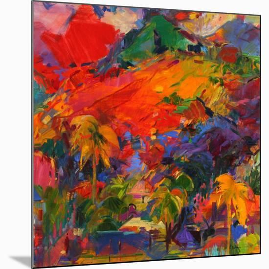 Paysage Polynesien, 2011-Peter Graham-Mounted Premium Giclee Print