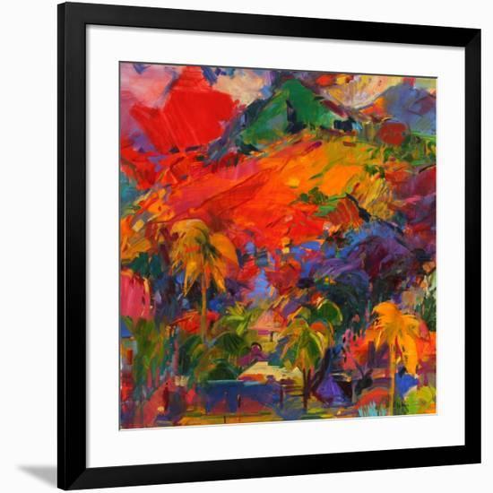 Paysage Polynesien, 2011-Peter Graham-Framed Giclee Print