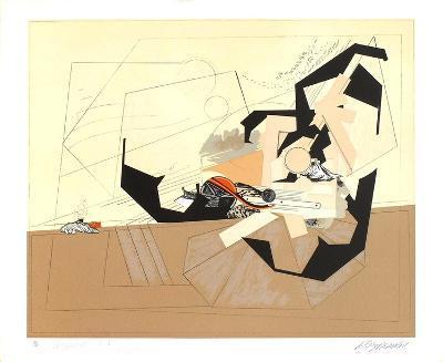 Paysage Pour Une Apres-Midi-Alain Le Yaouanc-Limited Edition