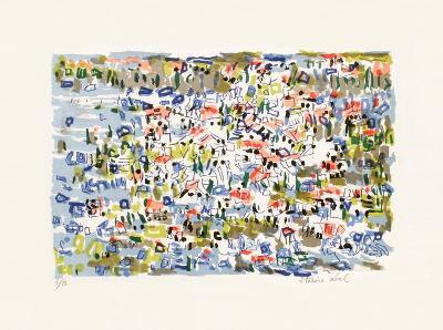 Paysage V-Irene Pereira Leal-Collectable Print