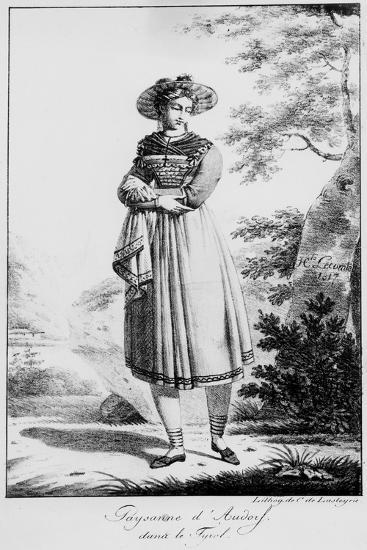 Paysanne D'Audorf Sand Le Tyrol--Giclee Print