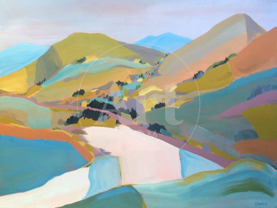 PCH Art Print by Pete Oswald | Art com