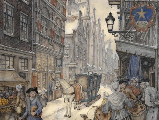 PD 321-Anton Pieck-Giclee Print