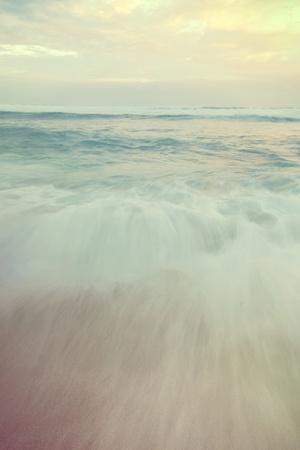 Dreamy Shot of the Ocean on Hookapa Beach on the North Shore of Maui.