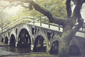 The Footbridge in Corolla, North Carolina is on the National Register of Historic Places. by pdb1