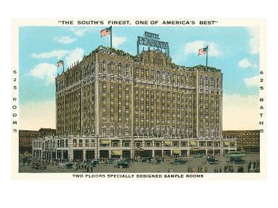 Peabody Hotel, Memphis--Art Print