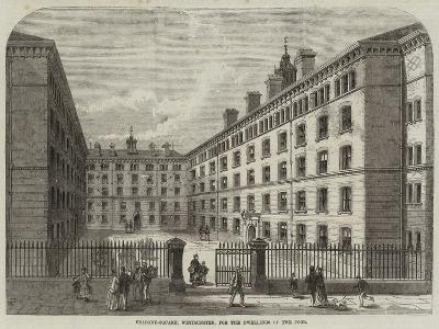 Peabody-Square, Westminster, for the Dwellings of the Poor-Frank Watkins-Giclee Print