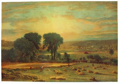 Peace and Abundance-George Inness-Collectable Print