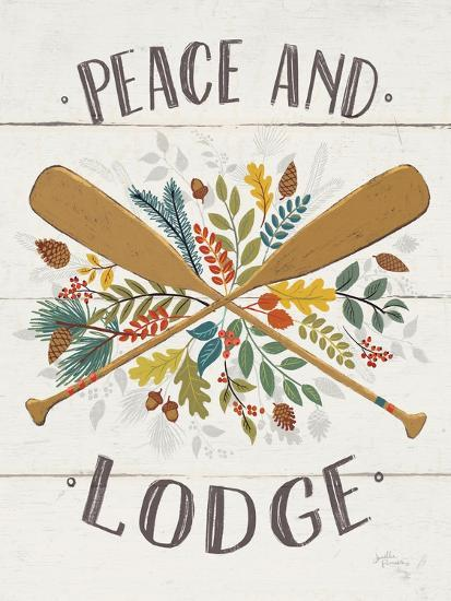 Peace and Lodge IV v2-Janelle Penner-Art Print