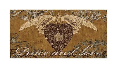 Peace and Love-Brandon Glover-Giclee Print