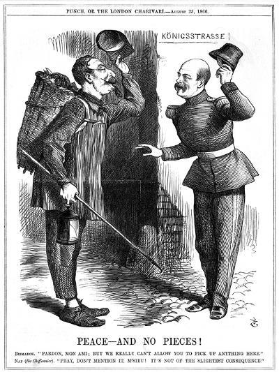 Peace - and No Pieces!, 1866-John Tenniel-Giclee Print