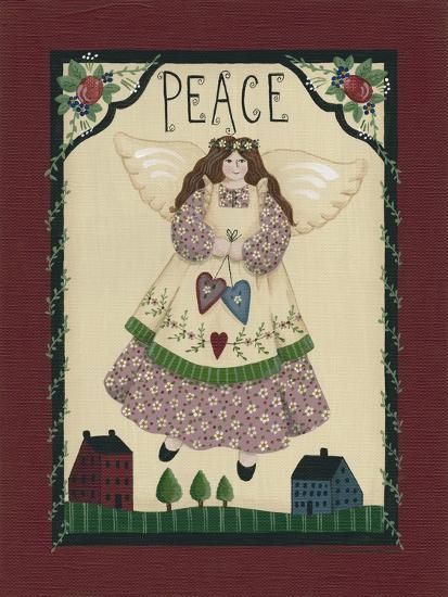 Peace Angel-Debbie McMaster-Giclee Print