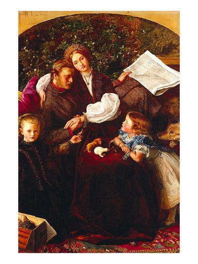 Peace Concluded-John Everett Millais-Art Print