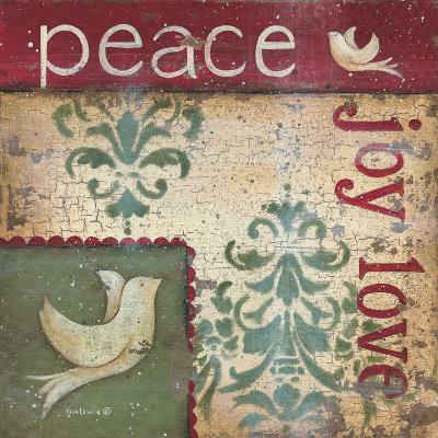 Peace Joy Love-Kim Lewis-Art Print
