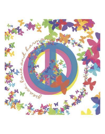 Peace, Love, and Harmony-Erin Clark-Art Print