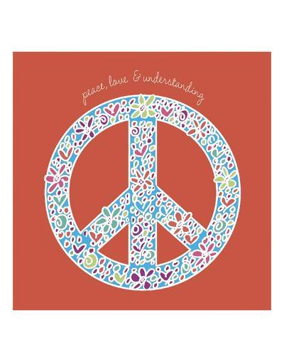 Peace, Love, and Understanding-Erin Clark-Art Print
