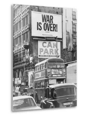Peace Message from John Lennon and Yoko Ono