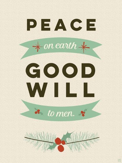 Peace on Earth-Aubree Perrenoud-Art Print