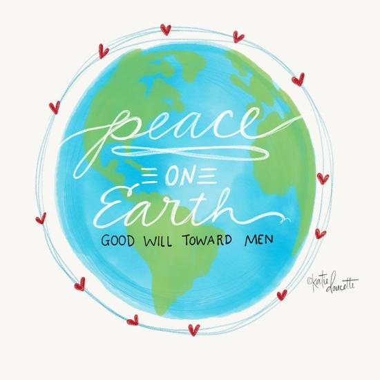 Peace on Earth-Katie Doucette-Art Print