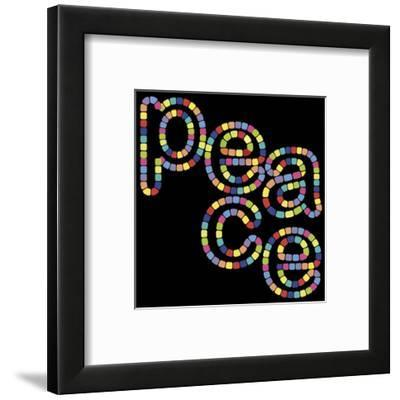 Peace-Out!-Mali Nave-Framed Art Print